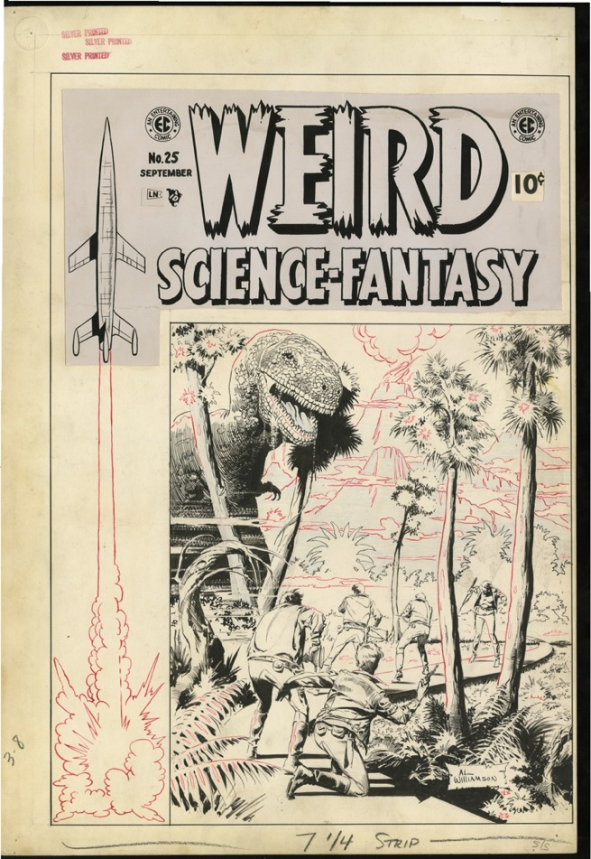 Weird-Science-Fantasy-issue-25-cover-by-Al-Williamson