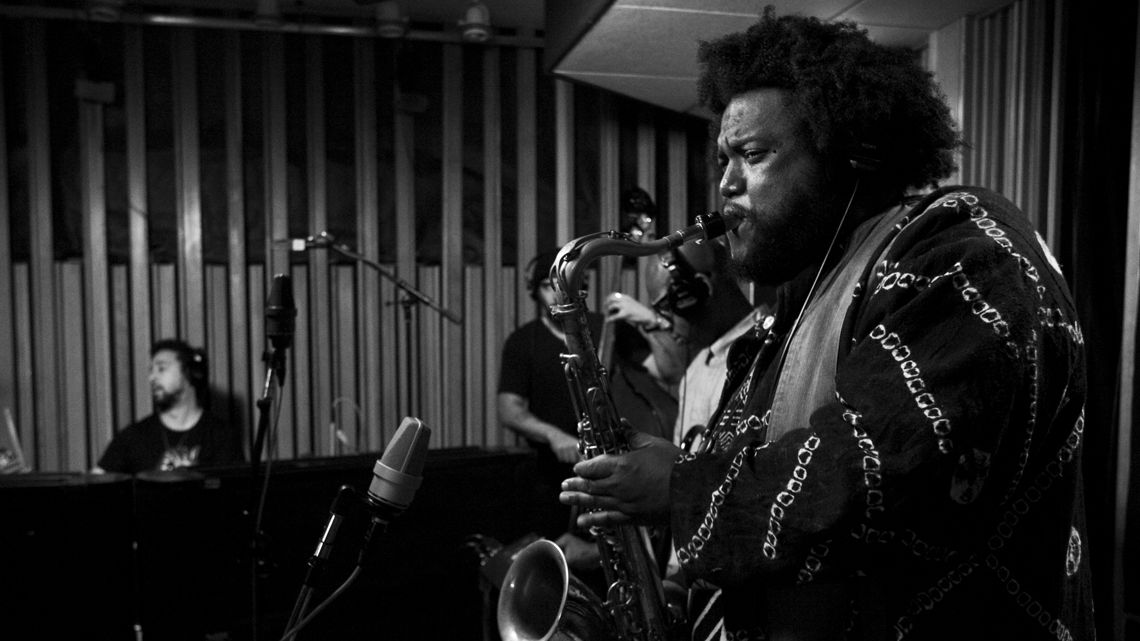 Kamasi Washington performs live in the KCRW studio.